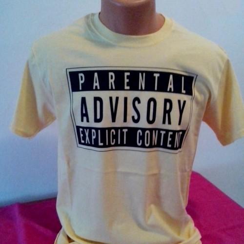 parental advisory majica