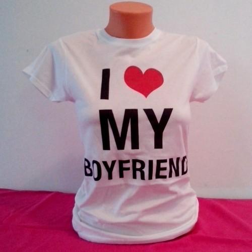 I love my boyfriend majice